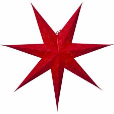 Звезда-подвес DECORUS без провода, 75 см, красный