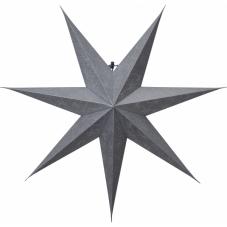 Звезда-подвес DECORUS без провода, 75 см, серебрянный