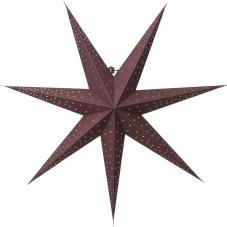 Звезда-подвес POINT без провода, 63 см, красный