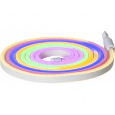 Светящийся провод FLATNEONLED, длина 3 м, 288 светодиодов LED, разноцветный