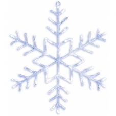 Подвес Снежинка ANTARCTICA, 80 см, холодный белый