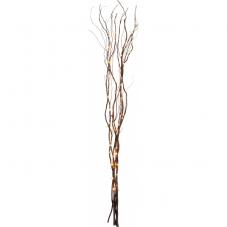 Светильник  ива WILLOW DEWDROP, 90 LED ламп, 115 см, коричневый