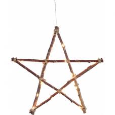 Светильник WOODY, 48 см, коричневый