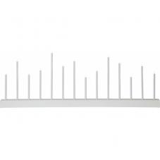 Светильник ECHO, высота 27 см, длина 77 см, белый