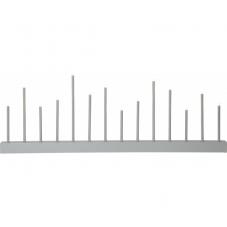 Светильник ECHO, высота 27 см, длина 77 см, светло-серый