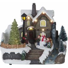 Светильник рождественский BRIGHTON, 16.5 см, разноцветный