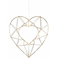 Светильник-подвес EDGE, 34 см, золотой