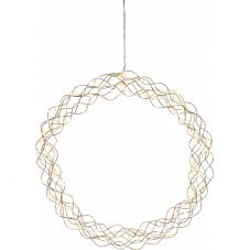 Светильник-подвес CURLY, 45 см, золотой