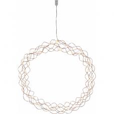 Светильник-подвес CURLY, 45 см, медный