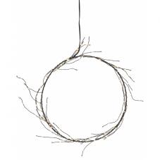 Светильник-подвес NIKE, 24 см, теплый белый, черный