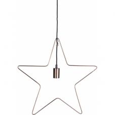 Светильник-подвес RAMSVIK Звезда, 50 см, медный