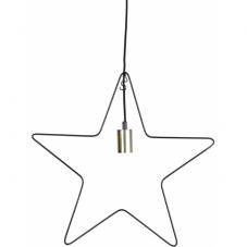 Светильник-подвес RAMSVIK Звезда, 50 см, черный