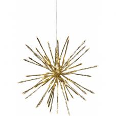 Светильник-подвес FIREWORK, 30 см, золотой