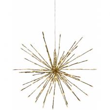 Светильник-подвес FIREWORK, 60 см, золотой