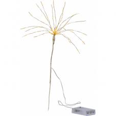 Светильник декоративный BOUQUET, на батарейках, 42 см, золотой