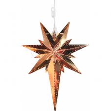 Звезда-подвес BETLEHEM, 35 см, медный