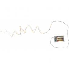 Гирлянда BOUQUET DEW DROP, на батарейках, 46 LED ламп, 3 шт х 90 см, 2 шт х 70 см, теплый белый