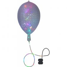 Шар с гирляндой на батарейках BALLON, 2.45 м, разноцветный