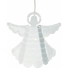 Светильник-подвес ANGELICA, 25 см, белый