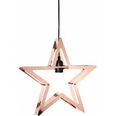 Светильник-подвес декоративный STARLING, 36 см, медный