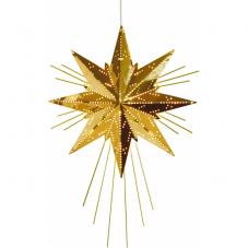 Звезда-подвес MINI LUXE, 36 см, золотой