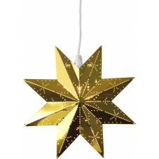 Звезда-подвес CLASSIC, 28 см, золотой
