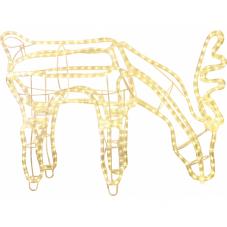 Фигура Олень REINDEER, 59 см, теплый желтый