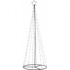 Ель декоративная LIGHT TREE,210 см, черный, теплый белый