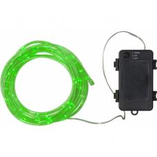 Гирлянда для улицы на батарейках TUBY, 5.5 м, зеленый