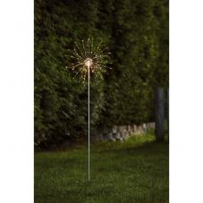 Светильник декоративный для улицы FIREWORK OUTDOOR, 110 см, серебрянный