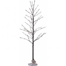 Дерево декоративное  TOBBY TREE, высота 120 см, ширина 60 см,  коричневый, теплый белый